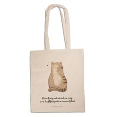 Tragetasche Katze sitzend aus Baumwolle  Natur - Das Original von Mr. & Mrs. Panda.  Diese wunderschöne weiße Tragetasche von Mr. & Mrs. Panda im Jutebeutel Style ist wirklich etwas ganz Besonderes. Mit unseren Motiven und Sprüchen kannst du auf eine ganz besondere Art und Weise dein Lebensgefühl ausdrücken.    Über unser Motiv Katze sitzend  Unsere langersehnte Katzenkollektion ist da! Unsere Katzen sind wie echte Katzen - arrogant, versnobt, immer hungrig, und unglaublich liebeswert…