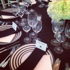 Black and white wedding at Woodend by Elegance & Simplicity, Inc. - #dcwedding #dcflorist #blaclandwhitewedding #bw