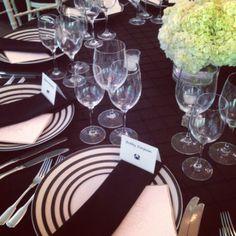 Black and white wedding at Woodend by Elegance & Simplicity, Inc. - #dcwedding #dcflorist #blaclandwhitewedding #bw
