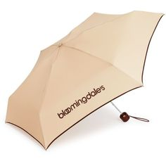 Bloomingdale's Umbrella ($26) ❤ liked on Polyvore featuring accessories, umbrellas and bloomingdales