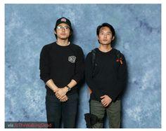 Glenn and Glenn Cosplayer