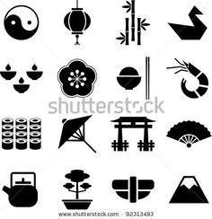 stock-vector-japan-pictograms-92313493.jpg (450×466)