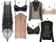 do the sheer trend and... rock it!!!