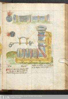 103 [51r] - Ms. germ. qu. 14 (Ausst. 48) - Rüst- und Feuerwerksbuch - Page - Mittelalterliche Handschriften - Digitale Sammlungen