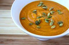 ... Roasted Pumpkin Soup with Brown Butter and Thyme | Pumpkin Soup, Soups
