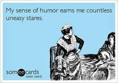 Ecard my sense of humor
