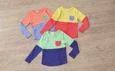 Candy Color Shirts for the Kids
