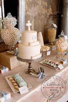 baptism cake!! buena idea!!
