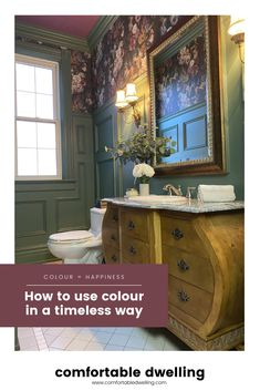 This post is for my colour-loving home decor fans out there! Colour psychology in interior design shows choosing the right room colour can affect your mood in the right way. In this blog post, I share with you how you can use colour in your home in a timeless way that compliments your home's architecture and your personal style. Head to the post to read more! | how to use color in your home | painting with color | choosing the best paint color for your home | colour schemes | paint colour tips Paint Color Schemes, House Color Schemes, House Colors, Interior Design Shows, Interior Design Services, Sherwin Williams Color Palette, Colour Psychology, Home Styles Exterior, Blue Bathroom Decor