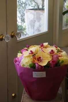 orchid,peony,eustoma and rose