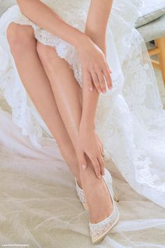 Sexy sparkle defines these shimmering ivory wedding shoes covered in dazzling sequins. Bridal shoes & Jewels at Perfect Details. Sparkle Wedding, Wedding Heels, Ivory Wedding, Types Of Gowns, Traditional Gowns, Designer Wedding Shoes, Bridal Skirts, Bridal Cape, Wedding Dress Trends