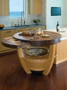 Quality Kitchen Cabinets at Value Pricing - Uncinetto Kitchen Room Design, Modern Kitchen Design, Home Decor Kitchen, Kitchen Furniture, Interior Design Living Room, Home Kitchens, Ikea Kitchen, Island Kitchen, Kitchen Counters