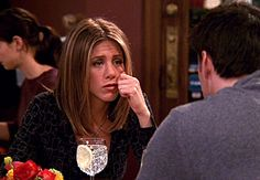 "Jennifer Aniston as Rachel Greene on ""Friends"" (Season 8)."