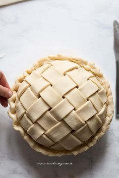 Tart Recipes, Wine Recipes, Sweet Recipes, Kinds Of Pie, Biscuit Cake, Italian Desserts, Italian Pastries, Something Sweet, E Design