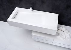 Square design sink from Kvik