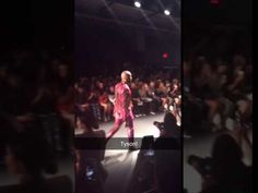 """Friends, a shiny video is here ✨ Tyson Beckford in Michael Costello NYFW SS""""17  https://youtube.com/watch?v=RiqHuuh83Hg"""