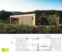 Ecomo: EM Fold (South Africa) Modular Housing, Colonial Architecture, Small Places, Shipping Container Homes, Tiny House Plans, Prefab Homes, Modern Homes, Small Houses, Tiny Living
