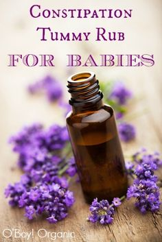 Preventing Baby Constipation Naturally with these tips and tricks - using this food guide and natural ways, including essential oils to make baby better.