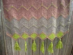 Ravelry: Project Gallery for Diamond Wrap pattern by Maureen Mason-Jamieson