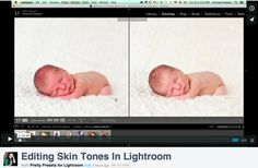 Editing Skin Tones in Lightroom + Free Notes!