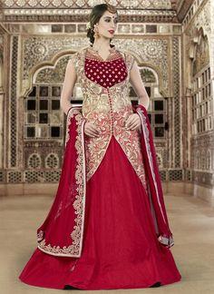 Buy Sensible Resham Work Raw Silk A Line Lehenga Choli #ethnic #indianethnic #indianethnicwear #indianwedding #bridalwear #indianoutfit #indianfashion #lehenga #designerlehenga #designerwear