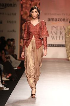 One of my favorite looks from Amazon India Fashion Week #AIFWSS16 #AIFW #Frugal2Fab