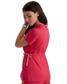 43ff3d6e07e Med Couture ViVi Mia Crossover Scrub Tops   Scrubs & Beyond Scrub Tops,  Crossover,