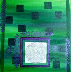 """Rizwana A.Mundewadi www.razarts.com  Saatchi Art Artist Rizwana A Mundewadi; Painting, """"Focussed"""" #art"""
