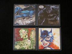 Batman Ladies of Gotham Comic Coaster Set by EpicButtons on Etsy, $20.00