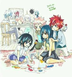 Fairy Tail kids :)