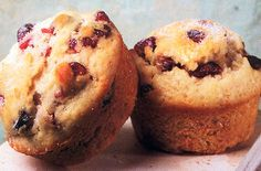Less fat doesn't mean less flavor with our Reduced Fat Cranberry Chip Muffins.