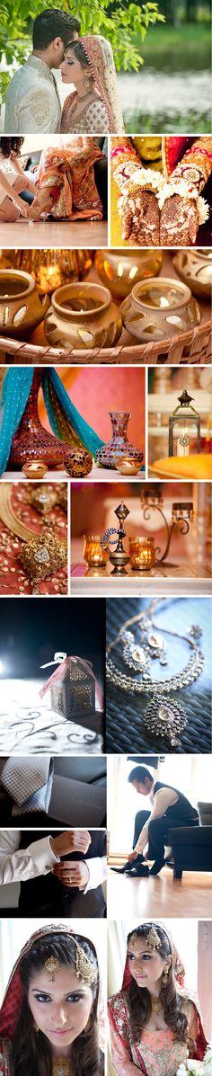Beautiful #Desi #IndianWedding Details