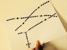 Rosary sketch