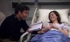 """When the fact that it took Ted so long to find Tracy just makes him appreciate her even more, until the very end. 