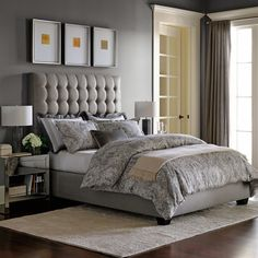 Fairfax Tall Bed & Headboard | Williams-Sonoma