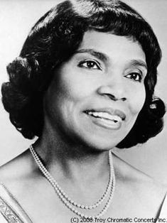 Incredible opera singer: contralto, Marian Anderson: concert on the steps of the Lincoln Memorial
