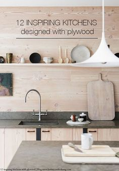 Besides its eco-friendly properties, plywood is a great alternative to re-design your kitchen on a budget. Here are 12 fantastic examples in pictures...