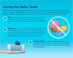 Caring for baby teeth!