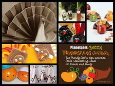 Thanksgiving Journal-chock full of ideas, tips, food, tablesetting, more to have a green eco friendly Thanksgiving Holiday