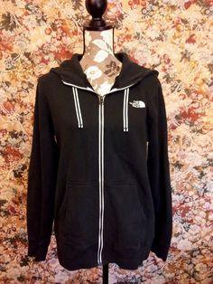 The North Face Hoodie Jacket Full Zip Hooded Womens Size Large Long Sleeve #TheNorthFace #Hoodie