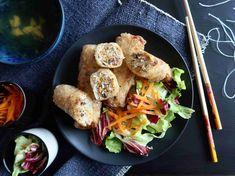Vietnamské jarní závitky s mletým masem Chả giò - Ochutnejte svět Chicken, Food, Fine Dining, Essen, Meals, Yemek, Eten, Cubs