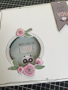 Owl Folk | docrafts.com Crafts To Do, Paper Crafts, Owl Card, Cardmaking, Birthday Cards, Folk, Just For You, Fancy, Projects