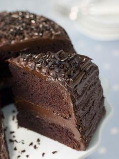 Receta de Torta Húmeda de chocolate