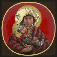 Galerie Zuger Santa Fe • Father John Giuliani | Guatemalan Madonna