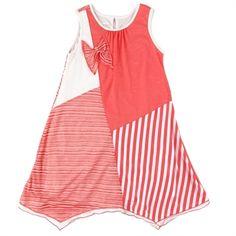 Isobella & Chloe Girls 7-16 Gingersnap Patchwork Dress