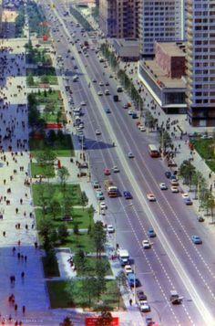 Фотография - Проспект Калинина - Фотографии старой Москвы