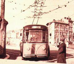 Rijeka - Trolejbus - 1960-tih Old Images
