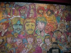 some beatle graffiti