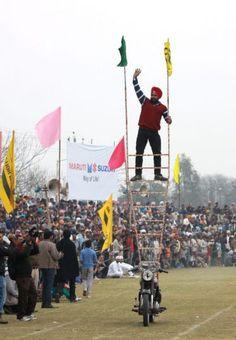 Indian Rural Olympics held in village Kila Raipur near Ludhiana