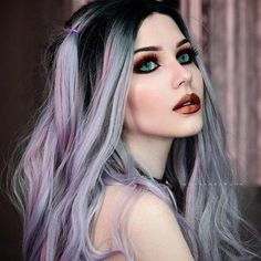 This shows, Why I believe, Dayana Crunk is an icon in Gothic fashion. Haircut Styles For Women, Short Haircut Styles, Cute Short Haircuts, Hair Styles, Goth Beauty, Dark Beauty, Gothic Girls, Goth Model, Gothic Steampunk